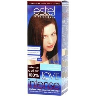 Краска для волос Estel Love Intense (Эстель Лав Интенс) 6/43 - Коньяк