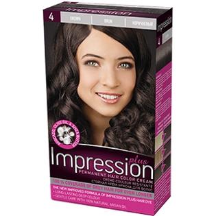 Краска для волос Impression Plus (Импрессион) № 4 - Коричневый