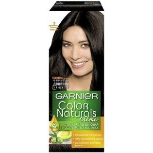 Краска для волос Garnier (Гарньер) Color Naturals 3 - Темный каштан