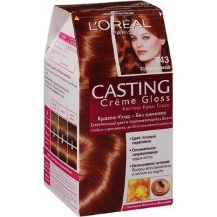 Краска для волос L'Oreal Paris (Лореаль) Casting Creme Gloss (Кастинг Крем Глосс) 743 - Пряный мед