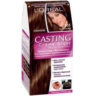 Краска для волос L'Oreal Paris (Лореаль) Casting Creme Gloss (Кастинг Крем Глосс) 535 - Шоколад