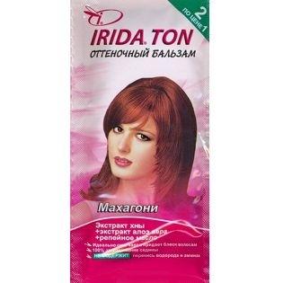 Оттеночный бальзам IRIDA TON (Ирида) Махагон