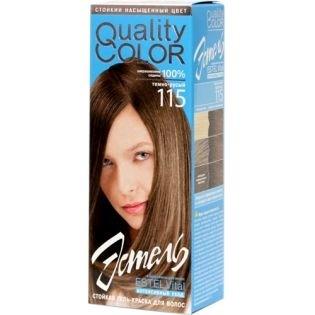 Краска-гель для волос Эстель 115 - Темно-русый