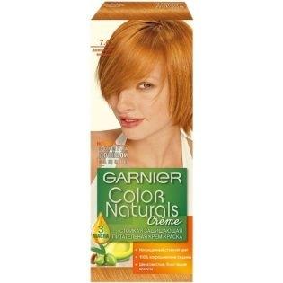 Краска для волос Garnier (Гарньер) Color Naturals 7.4 - Золотистый медный
