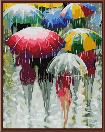 Цветные зонтики (резервирование)