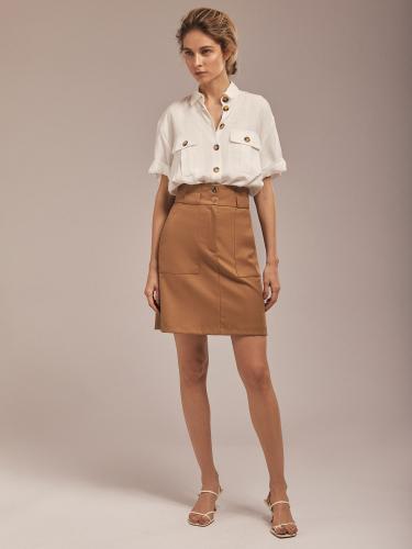 Блуза в стиле сафари