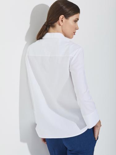Рубашка с металлической молнией