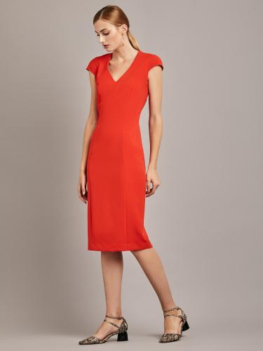 Приталенное платье длины