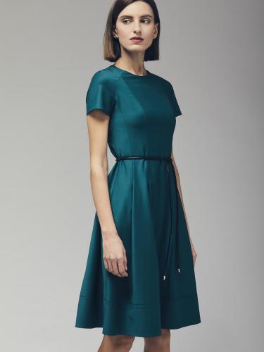Платье из смесовой шерсти