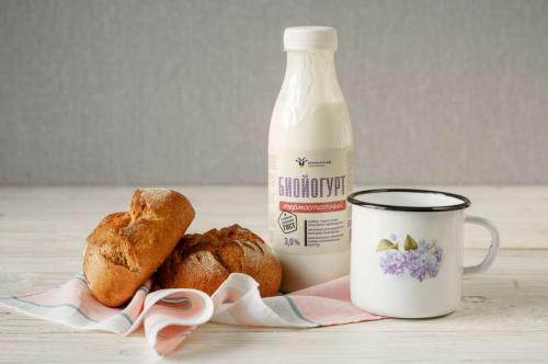 Биойогурт термостатный из коровьего молока 3% 450мл
