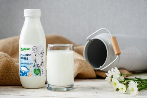 Молоко козье 3,5% 450 мл, бут.