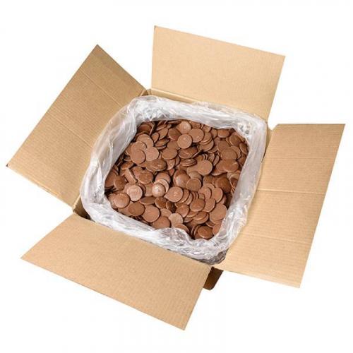 Шоколад молочный в каплях 31,5 процентов с/к СН-25IN 20кг Артикул: 7059