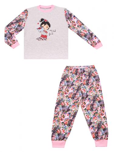 [504542]Пижама для девочки Д2ЖСБ501070н