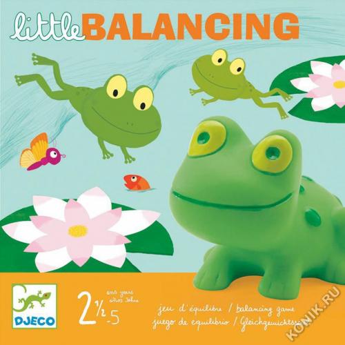 Настольная игра «Лягушачий балансир»