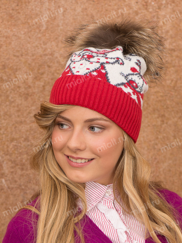 Шапка Merry Christmas girl