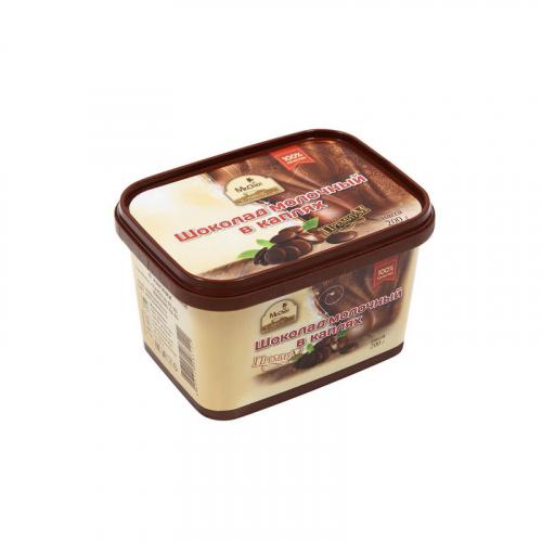 Молочный шоколад в каплях 200 гр Артикул: 1206