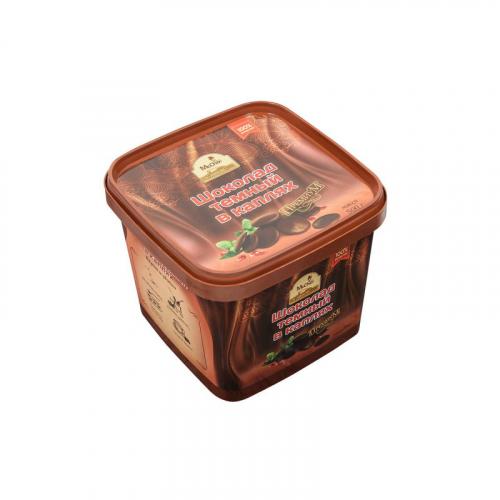 Темный шоколад в каплях 500 гр Артикул: 1210