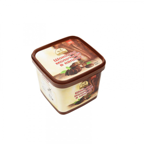 Молочный шоколад в каплях 500 гр Артикул: 1209