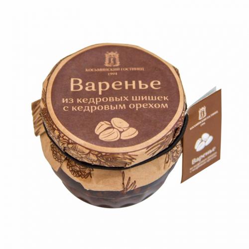 Варенье из кедровых шишек с кедровым орехом 160 гр Артикул: 6996