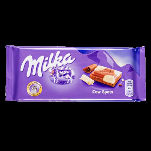 Шоколад Milka Cow Spots 100гр Артикул: 5622
