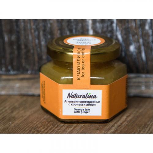 Naturalina Апельсиновое варенье с имбирем, к утке 100 г SALE Артикул: 7228