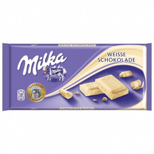 Шоколад Milka White Chocolate 100гр(плитка) Артикул: 5164