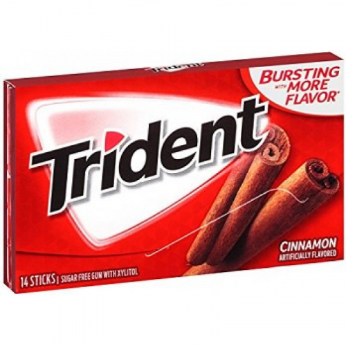 Trident Cinnamon Жевательная резинка Артикул: 7182