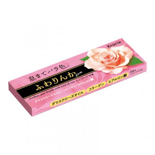 Жевательная резинка Kracie Rose Gum (аромат Розы) Япония SALE Артикул: 7067