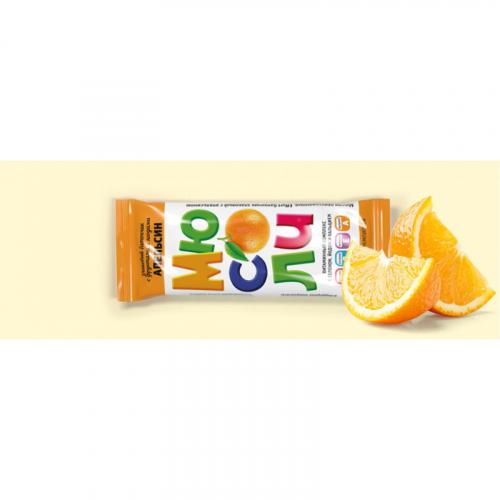 Фруктово-злаковый батончик EFFORT с апельсином 20г Артикул: 7318