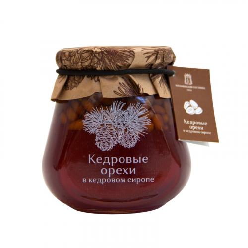 Варенье кедровые орехи в кедровом сиропе 290 гр SALE Артикул: 7197