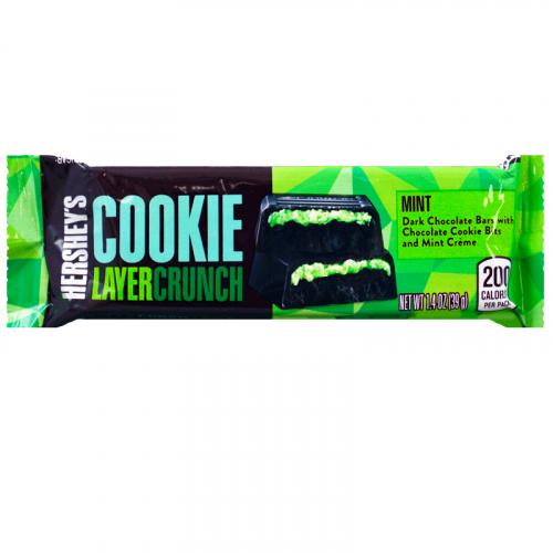 Батончик «Hersheys Layer Crunch Mint» 39 гр Артикул: 7421