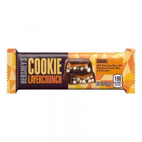 Батончик «Hershey's Cookie Layer Crunch Caramel» 39 гр Артикул: 7422