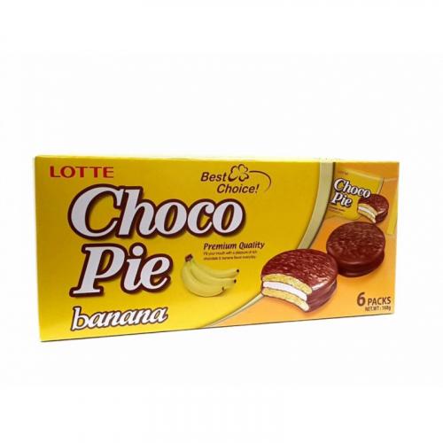 Choco Pie Banana 6 packs 168гр Артикул: 5639