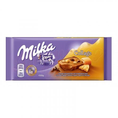 Milka Collage Caramel соленая карамель 93 гр Артикул: 5250