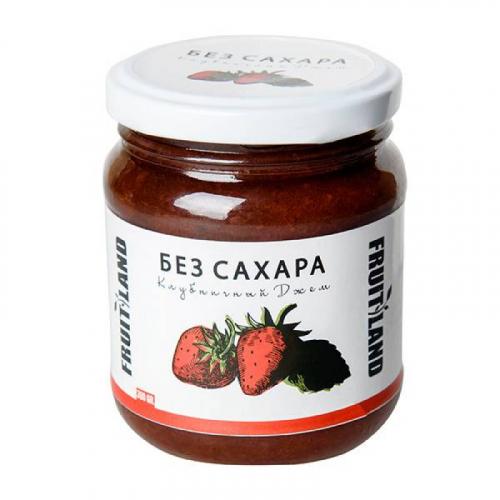 Джем клубничный без сахара (Армения) 300 гр Артикул: 6867