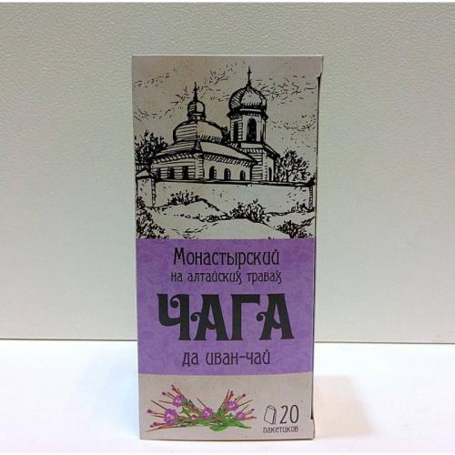 "Напиток чайный ""Монастырский чага на алтайских травах да иван-чай"" Артикул: 7007"