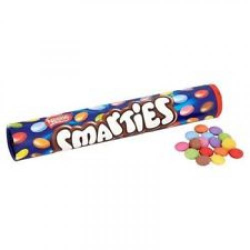 Драже Nestle Smarties гигантская туба 130гр Артикул: 5649
