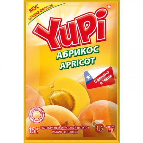YUPI Абрикос 15г Артикул: 6977