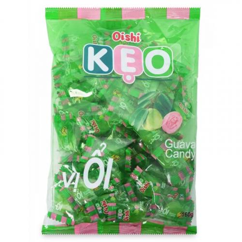 Конфеты леденцы Oishi KEO со вкусом Гуавы 90г Вьетнам УЦЕНЕННЫЙ ТОВАР Артикул: 7356