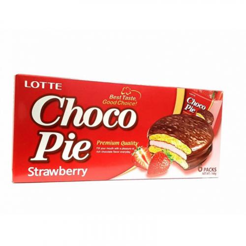 Choco Pie Strawberry 6 packs 168гр Артикул: 5640
