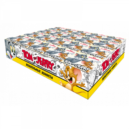 Tom and Jerry конфеты жевательные со вкусом Дыни 20 уп 250гр Артикул: 7087