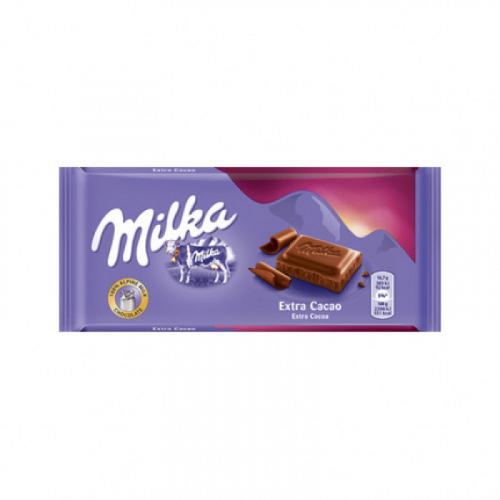 Шоколад Milka Extra Cacao 100гр Артикул: 5626