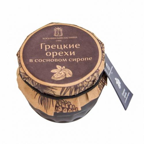 Варенье из грецких орехов в сосновом сиропе, 160 гр. Артикул: 6995
