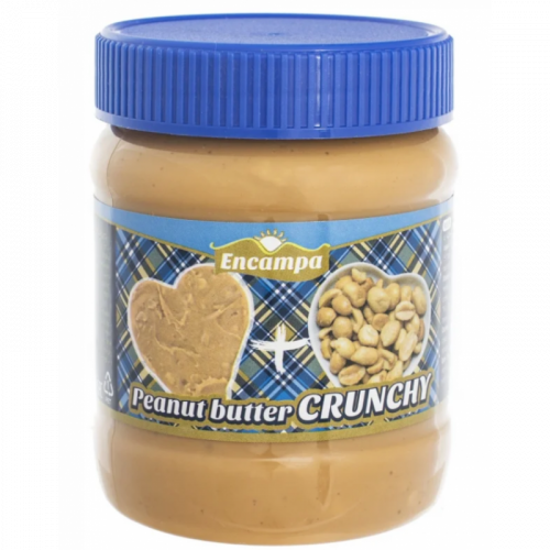Арахисовая паста Encampa Peanut Butter Crunchy 340гр Артикул: 6874