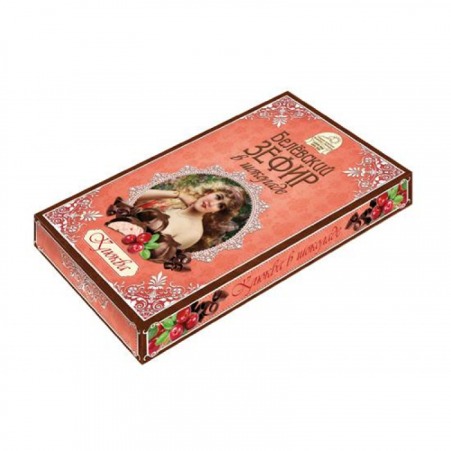 Белевский зефир в шоколаде клюква 250гр Артикул: 6941