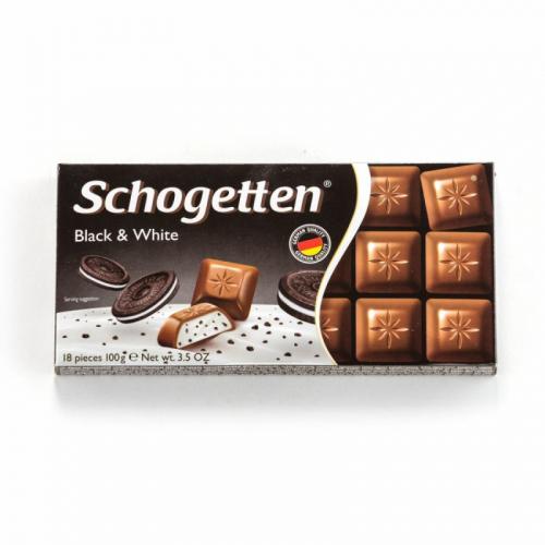 Шоколад Schogetten BLAСK & WHITE 100 ГР Артикул: 7417