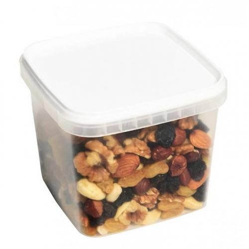 Микс из отборных орехов (фундук, изюм джамбо золотой, грецкий, миндаль, кешью, арахис) 600гр Артикул: 1261