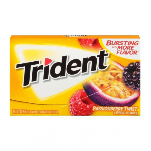Trident Passionberry Twist Жевательная резинка Артикул: 5958