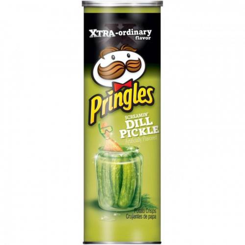 Pringles маринованный огурчик 158 гр Артикул: 5425