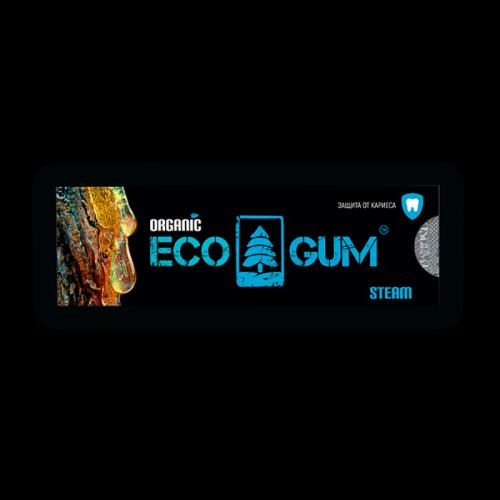 Жевачка из чистой смолы лиственницы Паровая EcoGum Артикул: 7081
